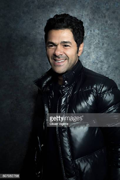 Actor Jamel Debbouze is photographed for Self Assignment on January 13, 2016 in Alpe d'Huez, France.