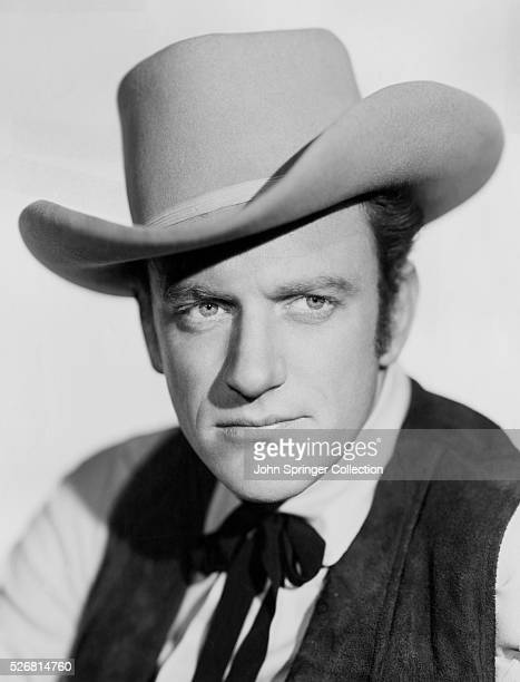 Actor James Arness in Western Clothing