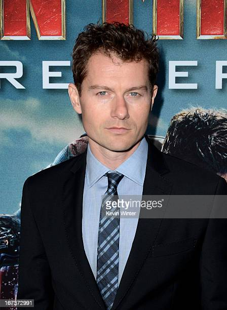 Actor James Badge Dale arrives at the premiere of Walt Disney Pictures' Iron Man 3 at the El Capitan Theatre on April 24 2013 in Hollywood California