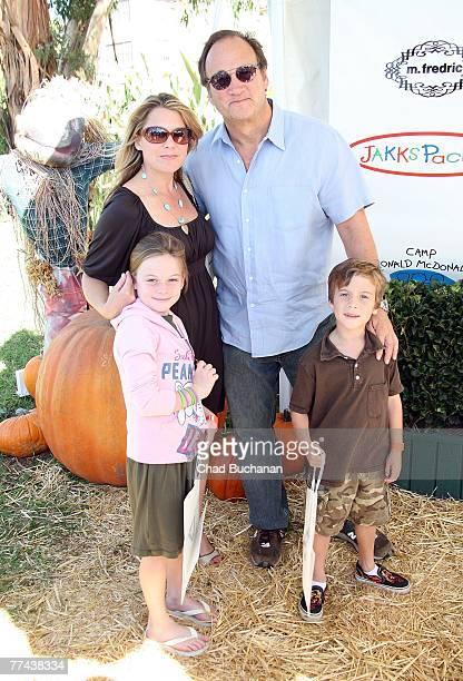 Actor James Belushi and his son Robert Belushi with his wife Jennifer Sloan and their daughter Jamison Belushi attend the Camp Ronald McDonald 15th...