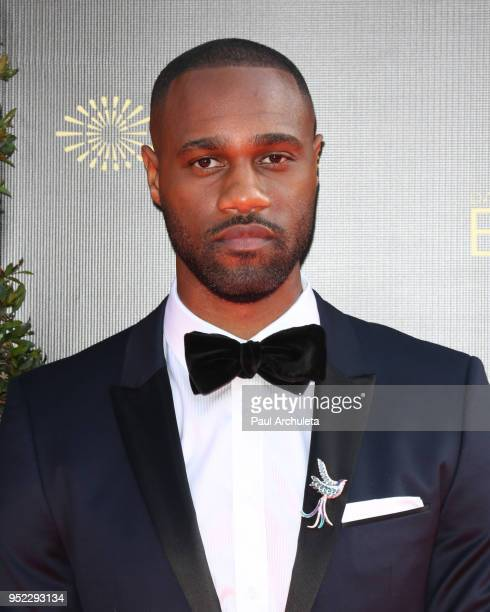Actor James Bland attends the 45th Annual Daytime Creative Arts Emmy Awards at the Pasadena Civic Auditorium on April 27 2018 in Pasadena California