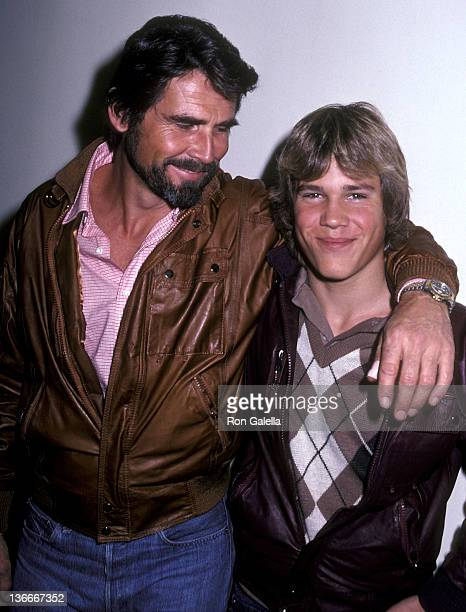 Actor James Brolin and son Josh Brolin leave for Aspen Colorado on March 1 1993 at the Los Angeles International Airport in Los Angeles California
