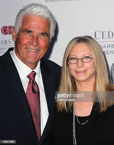Actor James Brolin and wife actress Barbra Streisand attend an intimate dinner benefiting CedarsSinai Women's Heart Center hosted by Streisand at her...