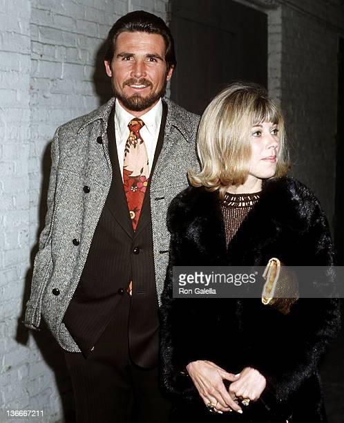 Actor James Brolin and wife Jane Cameron Agee attend James Brown in Concert on March 18 1971 at the Copacabana in New York City