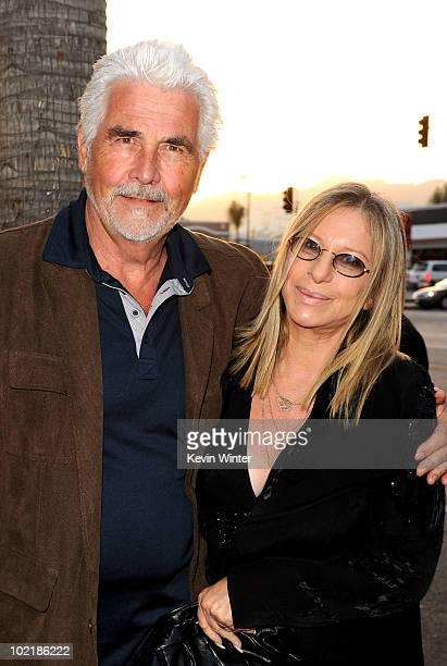 "Actor James Brolin and wife singer Barbra Streisand arrive at premiere of Warner Bros. ""Jonah Hex"" held at ArcLight Cinema's Cinerama Dome on June..."
