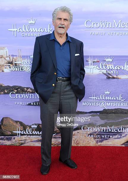 Actor James Brolin arrives at the Hallmark Channel and Hallmark Movies and Mysteries Summer 2016 TCA Press Tour Event on July 27, 2016 in Beverly...