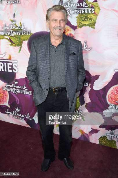 Actor James Brolin attends Hallmark Channel and Hallmark Movies and Mysteries Winter 2018 TCA Press Tour at Tournament House on January 13, 2018 in...