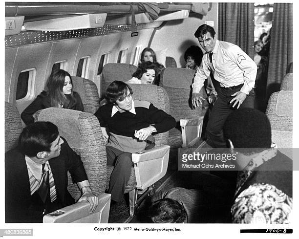Actor James Brolin in a scene from the movie Skyjacked circa 1972