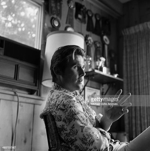 Actor James Brolin poses at home in Los Angeles, California.