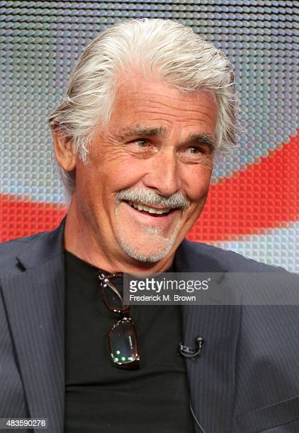 Actor James Brolin speaks onstage during the 'Code Black' panel discussion at the CBS portion of the 2015 Summer TCA Tour at The Beverly Hilton Hotel...