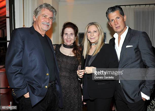 Actor James Brolin W Magazine's Lynn Hirschberg Barbra Streisand and Editor of W magazine Stefano Tonchi attend W Magazine Celebrates the Best...