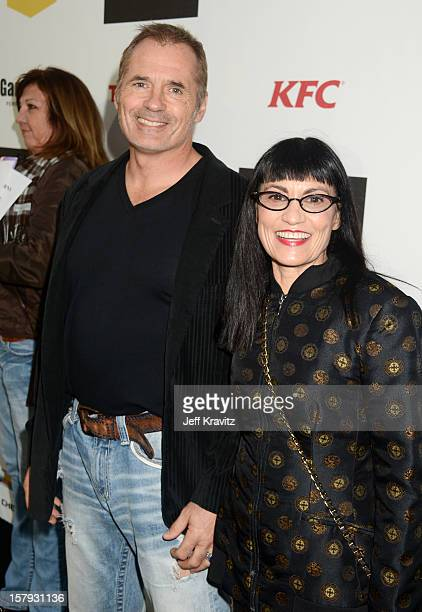Actor James C Burns and Nancye Ferguson arrive at Spike TV's 10th annual Video Game Awards at Sony Pictures Studios on December 7 2012 in Culver City...