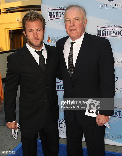 Actor James Caan and his son attend the Life Rolls on Foundation's sixth annual Night by the Ocean gala at the Kodak Theatre on October 4 2009 in...