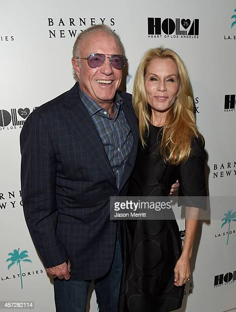 Actor James Caan and host Linda Caan attend a cocktail event with Barneys New York and HOLA to celebrate the newly renovated Beverly Hills Flagship...