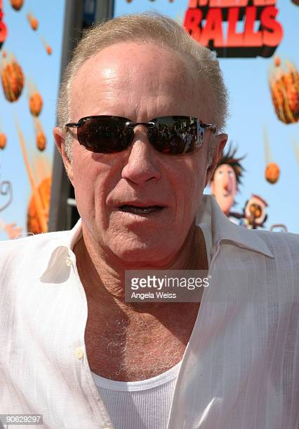 Actor James Caan arrives to the premiere of Sony's 'Cloudy With A Chance Of Meatballs' at the Mann Village Theater on September 12 2009 in Los...