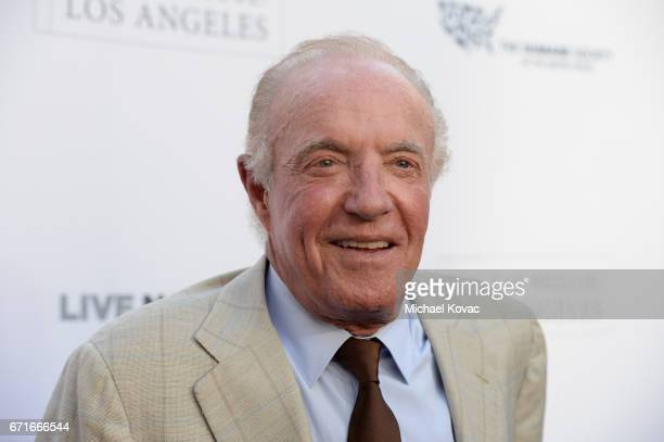 Actor James Caan at The Humane Society of the United States' To the Rescue Los Angeles Gala at Paramount Studios on April 22 2017 in Hollywood...