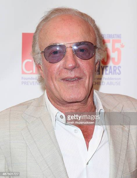 Actor James Caan attends the 2014 Woman Of The World Luncheon at Four Seasons Hotel Los Angeles at Beverly Hills on April 30 2014 in Beverly Hills...