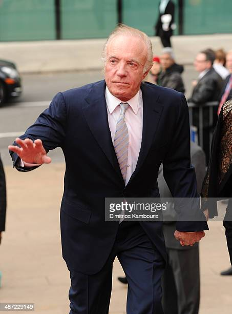 Actor James Caan attends the 41st Annual Chaplin Award Gala at Avery Fisher Hall at Lincoln Center for the Performing Arts on April 28 2014 in New...
