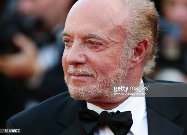 Actor James Caan attends the 'Blood Ties' Premiere during the 66th Annual Cannes Film Festival at the Palais des Festivals on May 20 2013 in Cannes...