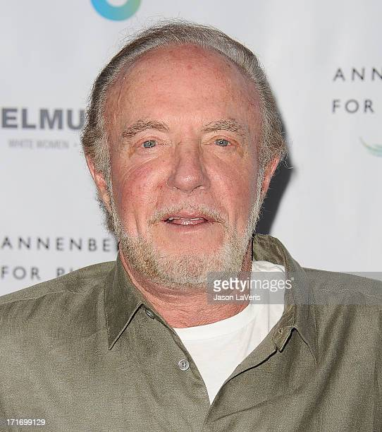 Actor James Caan attends the opening of 'Helmut Newton White Women Sleepless Nights Big Nudes' at Annenberg Space For Photography on June 27 2013 in...