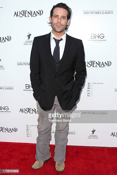 Actor James Callis attends the Austenland Los Angeles premiere held at ArcLight Hollywood on August 8 2013 in Hollywood California