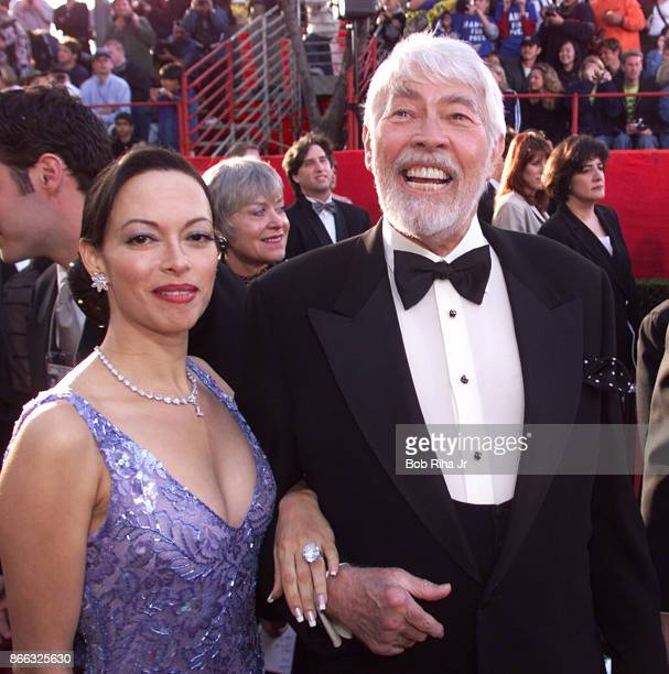 Actor James Coburn and Paula Coburn at the 71st Annual Academy Awards March 211999 In Los Angeles California