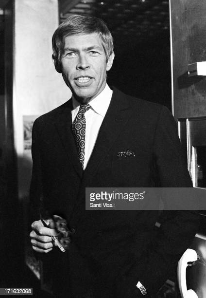 Actor James Coburn at the premiere of the Blue Max on June 211966 in New York New York