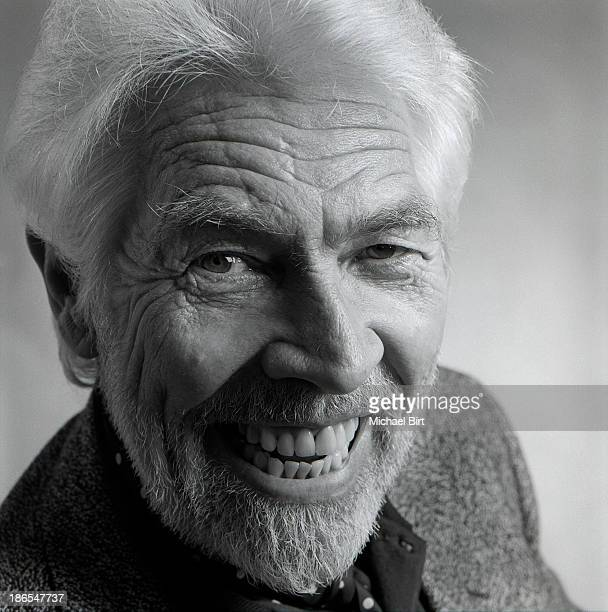 Actor James Coburn is photographed in London England