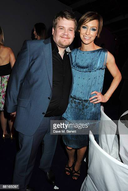 Actor James Corden and Glamour editor Jo Elvin attend the afterparty following the Glamour Women of the Year Awards 2009 at Berkeley Square Gardens...