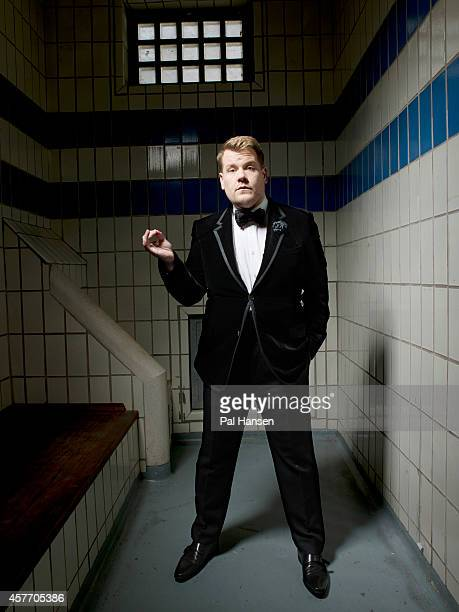 Actor James Corden is photographed for the Observer on September 3 2013 in London England
