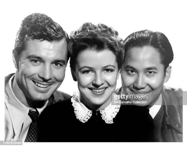 Actor James Craig as 'Jed Howard', Actress Betty Furness in her last cinematic appearance as 'Helen Warner' and Chinese Actor Keye Luke as 'Jimmy...