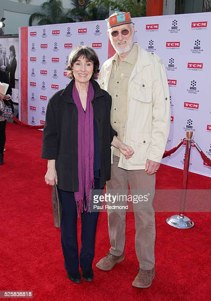 Actor James Cromwell and Anna Stuart arriving at the TCM Classic Film Festival 2016 Opening Night Gala 40th Anniversary Screening Of All The...