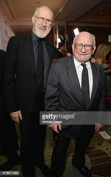 Actor James Cromwell and honoree Edward Asner attend The Humane Society Of The United States' Los Angeles Benefit Gala at the Beverly Wilshire Hotel...
