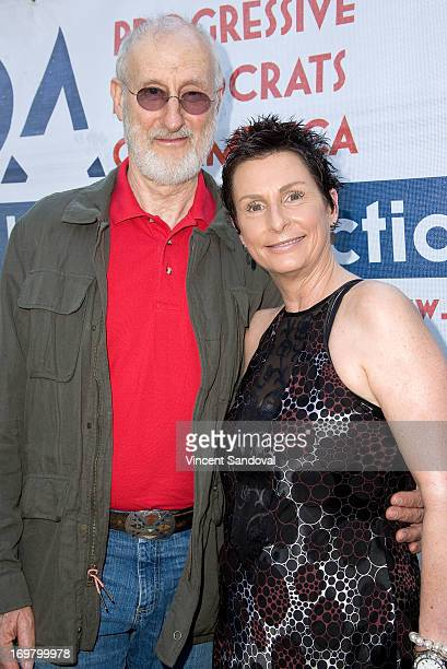 Actor James Cromwell and Linda Leibovitch attend the Progressive Democrats of America host Why The PDA Paves The Way To 2014 event on June 1 2013 in...