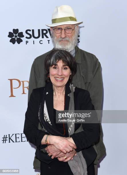 Actor James Cromwell and wife Anna Stuart arrive at the Premiere of Open Road Films' 'The Promise' at TCL Chinese Theatre on April 12 2017 in...