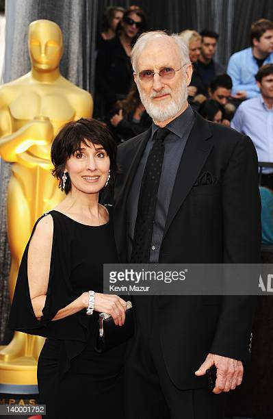 Actor James Cromwell and wife Anne Ulvestad arrive at the 84th Annual Academy Awards held at the Hollywood Highland Center on February 26 2012 in...