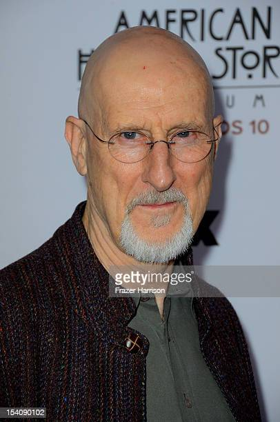 Actor James Cromwell arrives at the Premiere Screening of FX's 'American Horror Story Asylum' at the Paramount Theatre on October 13 2012 in...