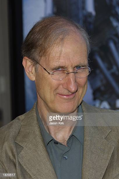 """Actor James Cromwell arrives at the world premiere of the film """"Lara Croft: Tomb Raider"""" June 11, 2001 in Westwood, CA."""