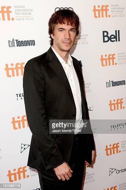 """Actor James D'Arcy attends the """"Cloud Atlas"""" premiere during the 2012 Toronto International Film Festival at the Princess of Wales Theatre on..."""