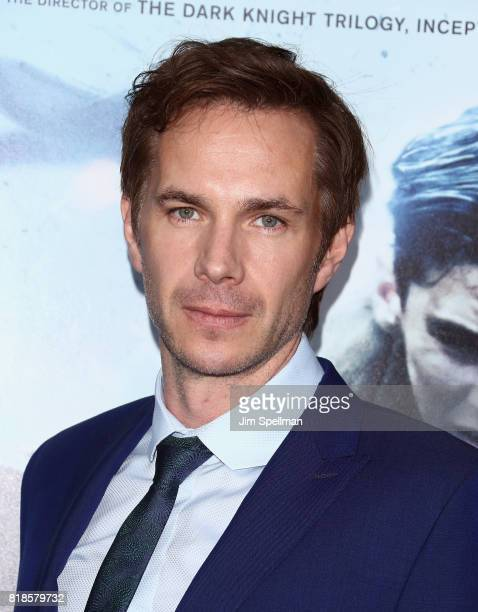 """Actor James D'Arcy attends the """"DUNKIRK"""" New York premiere at AMC Lincoln Square IMAX on July 18, 2017 in New York City."""