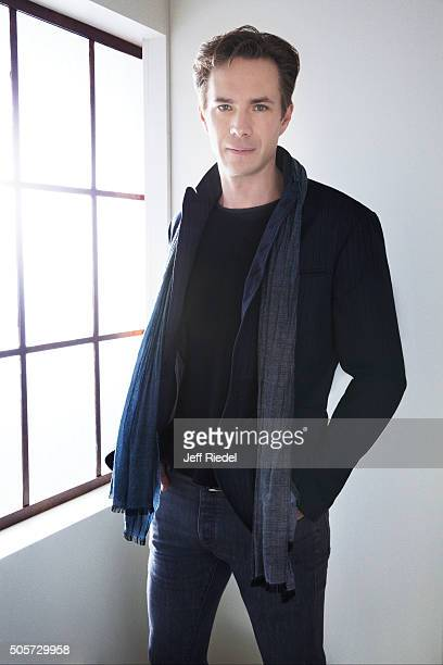 Actor James D'Arcy is photographed for TV Guide Magazine on January 14, 2015 in Pasadena, California.