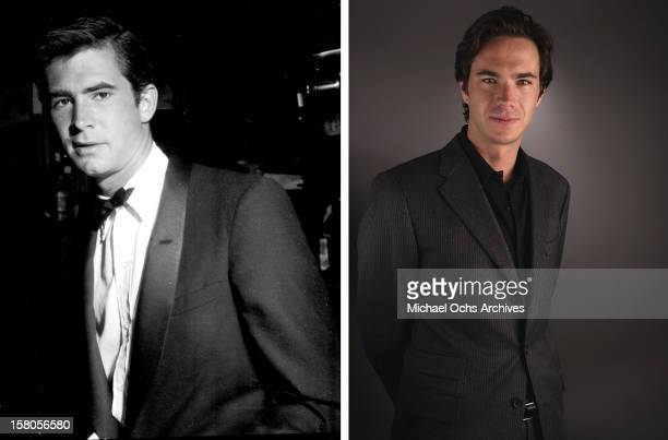 Actor James D'Arcy poses for a portrait at the AFI portrait studio presented by Audi at the Arclight Theatre November 5, 2005 in Hollywood,...