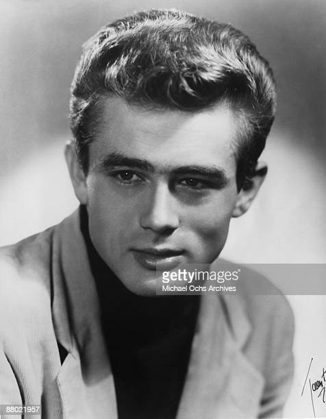Actor James Dean poses for a portrait circa 1953 in New York City New York