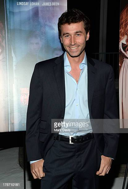 Actor James Deen arrives at the premiere of IFC Film's The Canyons at The Standard Hotel on August 6 2013 in Los Angeles California
