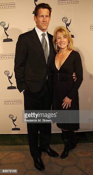 Actor James Denton and his wife attend the 2008 Academy of Television Arts Sciences' Hall of Fame ceremony at the Beverly Hills Hotel on December 9...