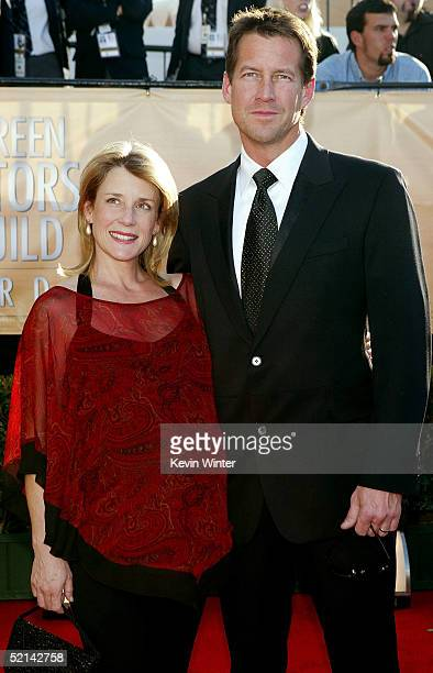 Actor James Denton and his wife Erin O'Brien arrive to the 11th Annual Screen Actors Guild Awards at the Los Angeles Shrine Exposition Center on...