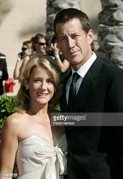 Actor James Denton and wife Erin O Brien arrive at the 2006 Creative Arts Awards held at the Shrine Auditorium on August 19 2006 in Los Angeles...
