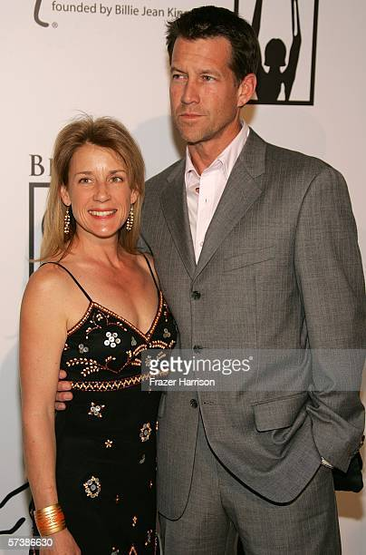 Actor James Denton and wife Erin O Brien arrive at the inaugural The Billies presented by The Women's Sports Foundation at the Beverly Hilton Hotel...