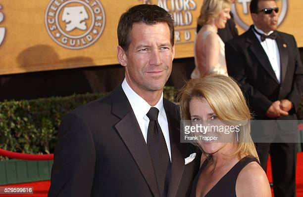 Actor James Denton and wife Erin O'Brien arrive at the 13th annual Screen Actors Guild Awards�� held at the Shrine Exposition Center
