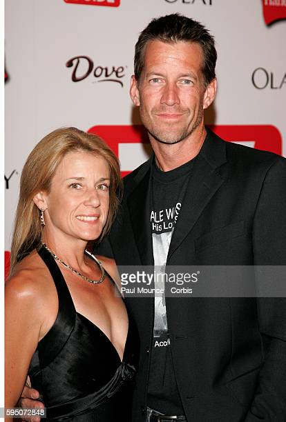 Actor James Denton and wife Erin O'Brien arrive at the 58th Primetime Emmy Awards TV Guide after party held at Social Hollywood.